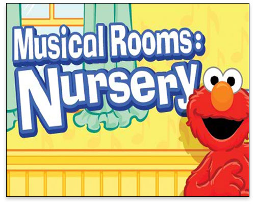 Sesame Street - Musical Rooms Nursery Title